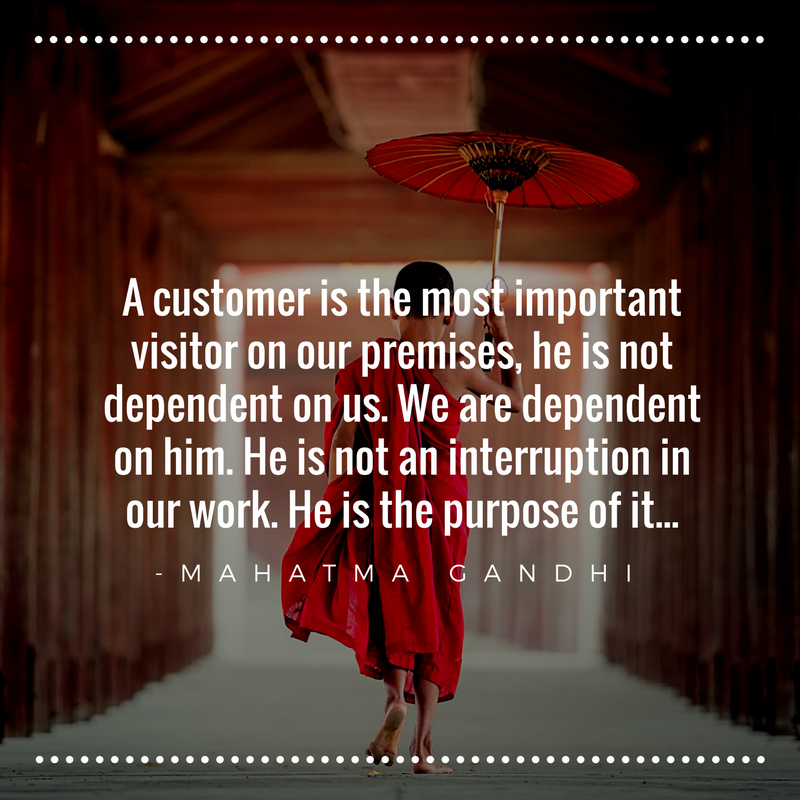 A customer is the most important