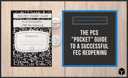 Click here to download your 'pocket' guide to a successful FEC reopening now!