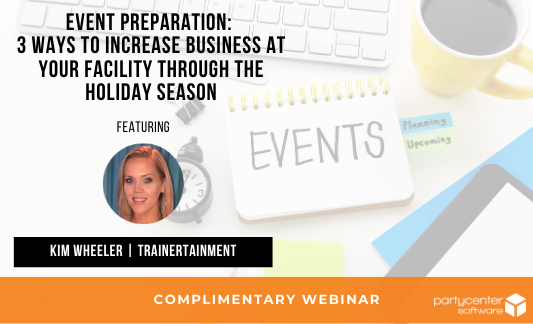 Click here to watch our webinar on event preparation now!