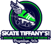 Skate Tiffany's Logo - Green Roller Skate with Wings
