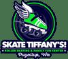 Skate Tiffany's Logo - Green Roller Skate with Wings