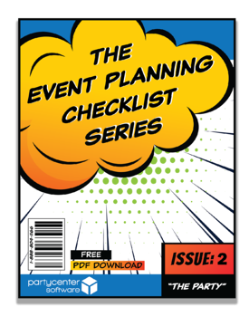 Event Planning Checklist - Issue #2: The Party