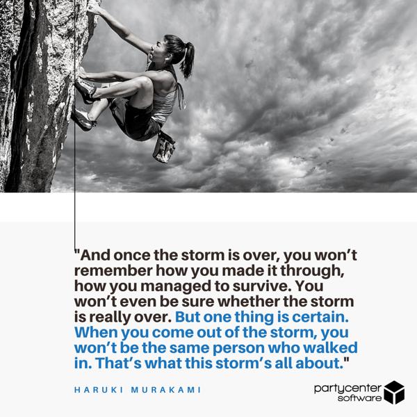 Haruki Murakami Quote - Small Business Struggles