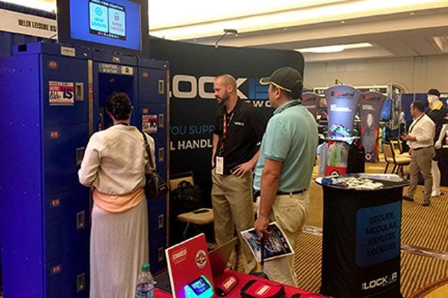 IATP vendor show floor