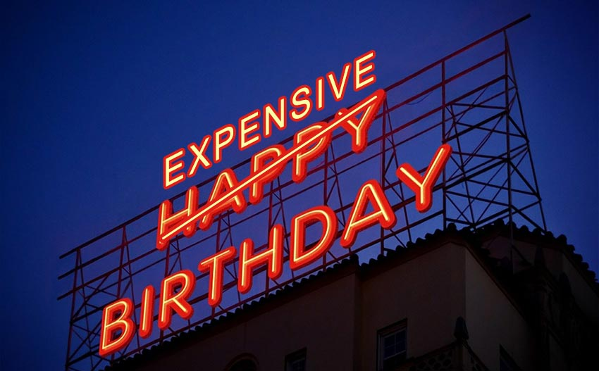 Expensive Birthday Party