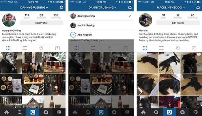 how to download instagram accounts