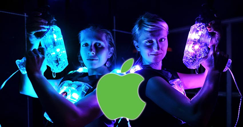Apple Laser Tag Industry