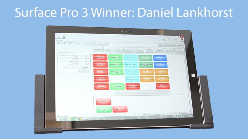 Microsoft Surface Pro 3 Winner