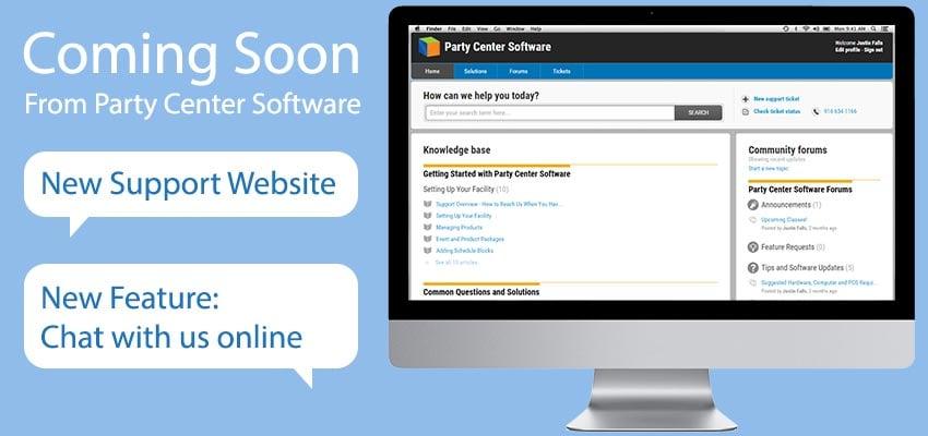 Software Update - New Support Website
