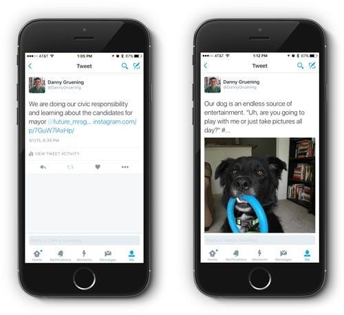 Twitter Post Comparison