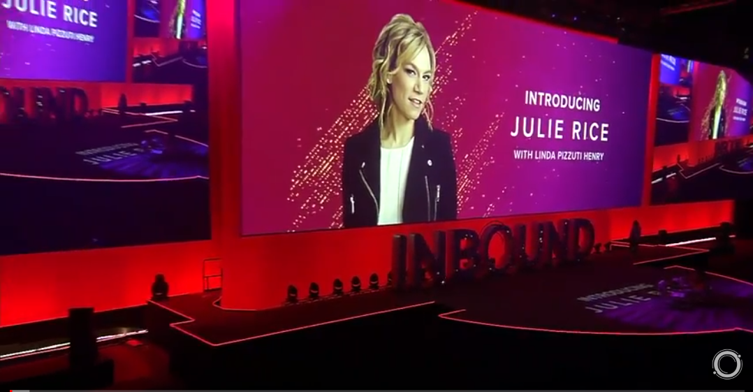 Julie Rice discusses creating community at Inbound 18