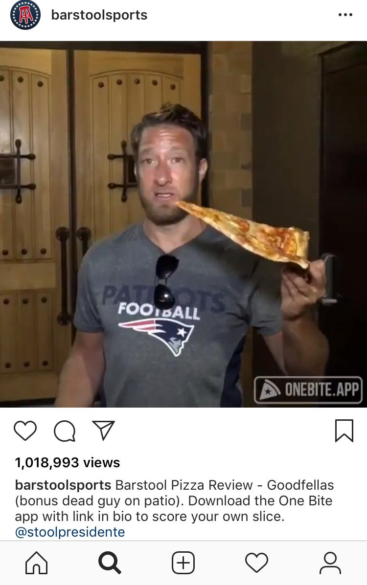 Dave Portnoy Instagram Following