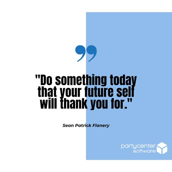 Sean Patrick Quote - Small Business Struggles