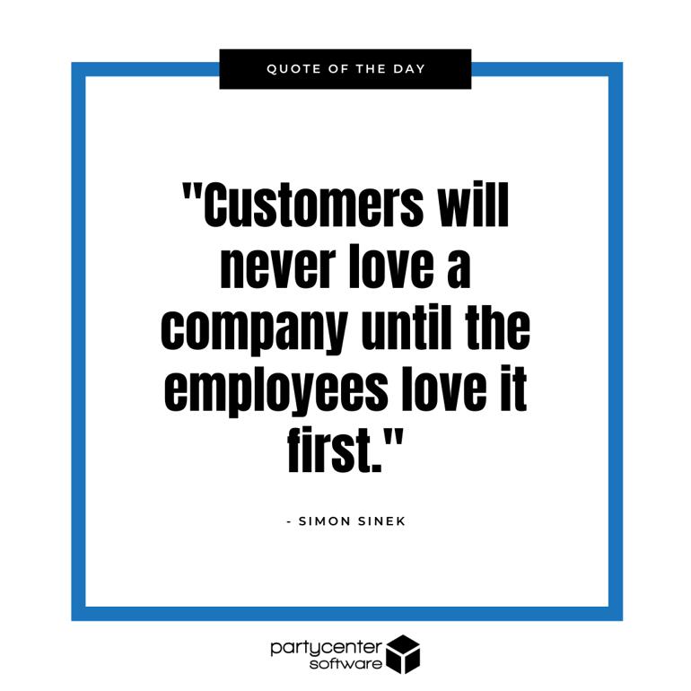 Simon Sinek Quote - Customer Experience - Blog