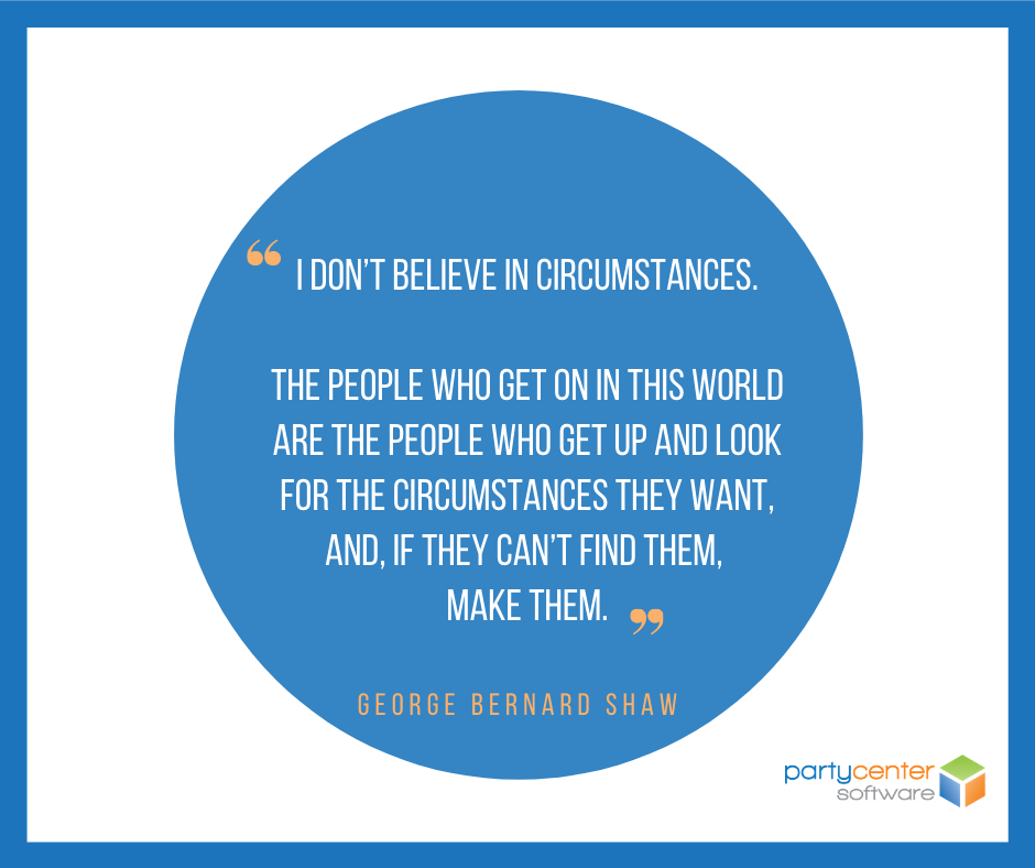 Small Business Quote for FEC Owners - George Bernard Shaw