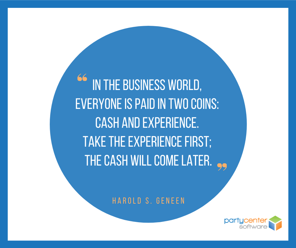 Small Business Quote for FEC Owners - Harold S. Geneen