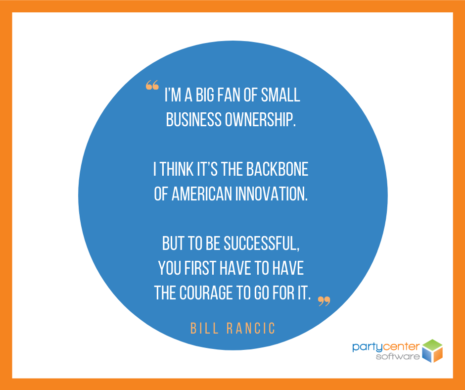 Small Business Quote for FEC Owners - Bill Rancic