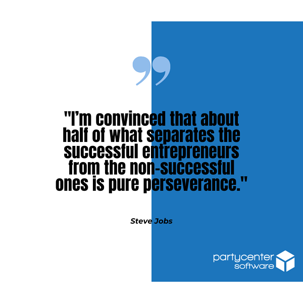 Steve Jobs Quote - Small Business Struggles