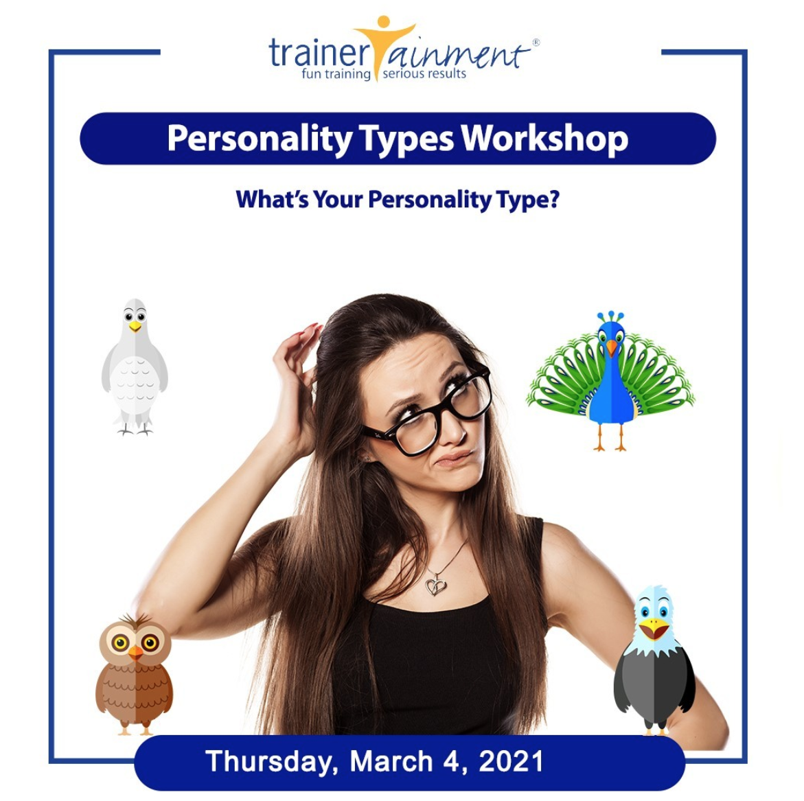 TrainerTainment Personality Test Workshop 2021