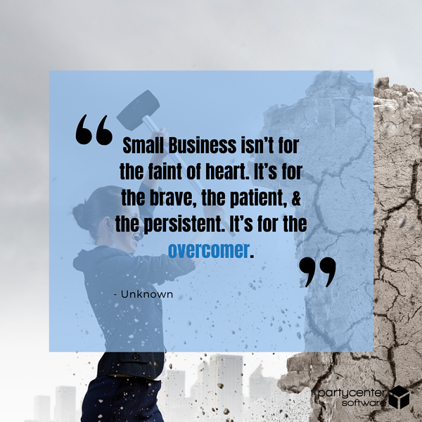 Unknown Quote - Small Business Struggles