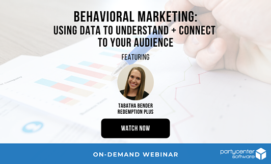 Promotional Image for PCS Behavioral Marketing Webinar with Redemption Plus