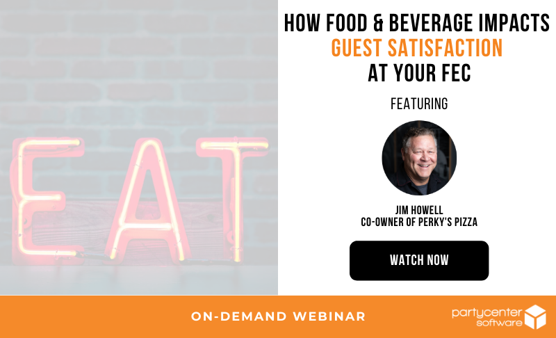 Image promoting on-demand webinar with Perky's Pizza