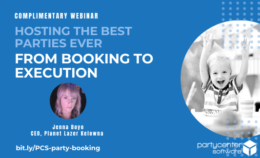 Webinar 34 - Party Booking - CTA - Email
