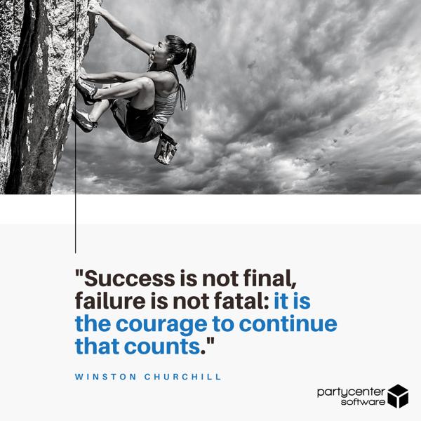 Winston Churchill Quote - Small Business Struggles