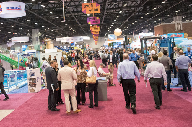 The largest trade show floor in the world