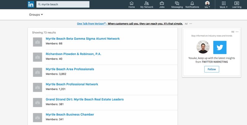 Getting website traffic from LinkedIn groups