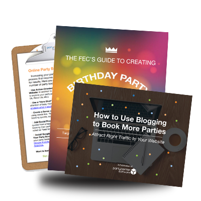 Download the Online Party Booking Toolkit