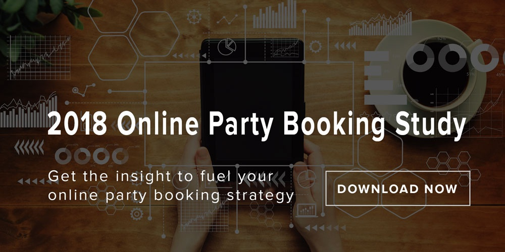 Get your copy of the 2018 Online Party Booking Study