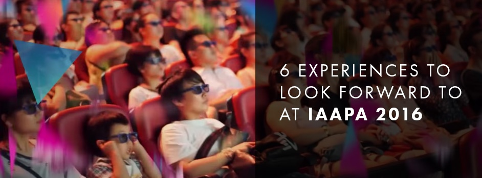 6 Experiences to Look Forward to at IAAPA 2016