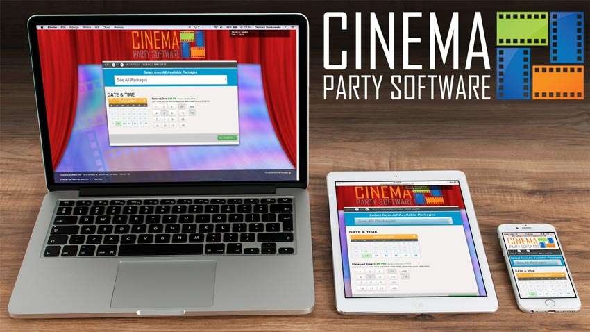 Announcing a New Brand - Cinema Party Software