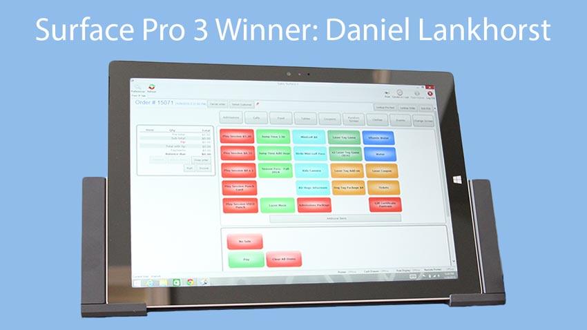 Microsoft Surface Pro Winner - IAAPA