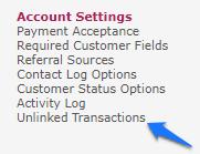 Unlinked Transaction Link