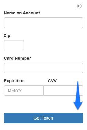 Card Info Fields
